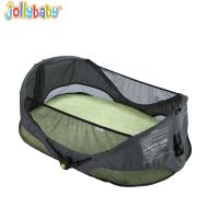 jollybaby多功能婴儿床欧美风格潮牌新生儿旅行床婴儿折叠摇篮床