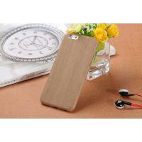 【供应爆款】iphone 6S超薄软木手机壳PU皮仿木纹厂家批发手机套