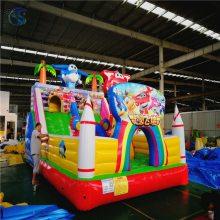 辽宁大洋儿童游乐设备充气城堡室内外均可使用的畅销设备