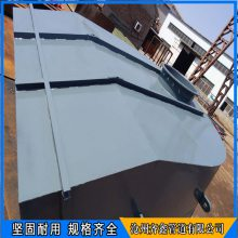 DD2301风机进口风箱 排粉风机进口风箱 齐鑫圆形挡板门