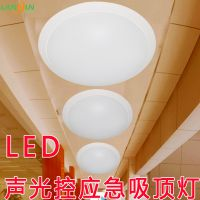 厂家直供 声控LED吸顶灯 楼道吸顶灯 吸顶灯 LED 雷达应急吸顶灯