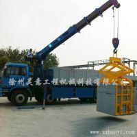 解放随车吊吊砖夹具 随车吊抱砖夹 多种型号可选择 快捷方便