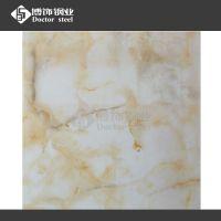 304BA不锈钢板 热转印石纹【米黄玉石】 卫浴不锈钢装饰材料