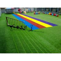 幼儿园专用人造草坪批发人工草坪专业铺装