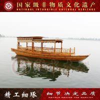 广西木船厂直销高低篷船 旅游观光船 手划船 服务类船出售