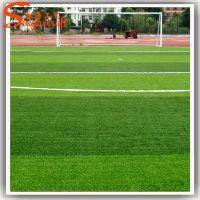 厂家批发草皮 仿真塑料 PU 加密人造草坪塑料 足球场假草皮绿化装饰