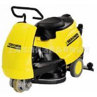 凯驰驾驶式洗地机 全球台摩托车外观的驾驶式自动洗地吸干机