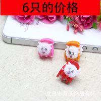韩版儿童发饰 卡通动物小抓夹迷你夹 塑料彩色发夹