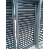 厂家自销固定式百叶窗 室外空调机罩 散热、通风