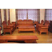 浙江红木家具厂 喜从天降沙发10件套 缅甸花梨