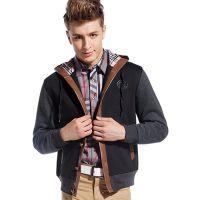 厂家直供2015秋季新品男装 男士薄款外套 时尚休闲男式卫衣批发