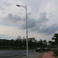 深圳市厂家直销4-18米单臂路灯杆 道路马路LED灯杆灯柱定制加工