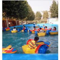 单人儿童水上手摇船藏龙厂家热卖 夏日必备玩具手摇船 水上娱乐手摇船