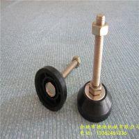 德驰厂家直销 防滑防震调节蹄脚 重型塑料家具脚 机器配件定向调整脚