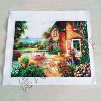 上海油画 仿真国画专用万能平板打印机