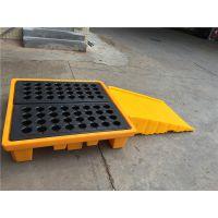 防渗漏托盘厂家-防泄漏托盘规格-聚乙烯废机油卡板