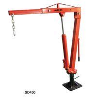 定制优客力SD450起重吊运设备可旋转固定式小吊机,皮卡吊机