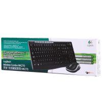 罗技 MK270 无线键盘鼠标套装 多媒体静音键鼠套装