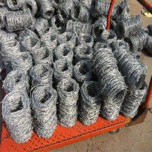 热镀锌铁蒺藜 铁蒺藜护栏网 镀锌刺绳价格