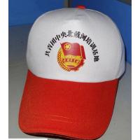 大型户外帽子印字广州杭州滨江区余杭区空顶透气帽子绣图定制