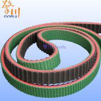 擎川everlar厂家直销加红胶草型花纹防滑爬坡同步带 橡胶材质 特殊加工