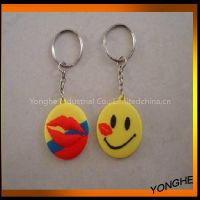 popular love kiss key ring for lovers wedding souvenirs
