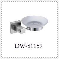 厂家批发 表面拉丝处理 单碟架子 304不锈钢肥皂架 卫浴挂件