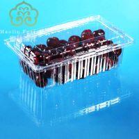水果塑料包装盒3斤装樱桃荔枝透明塑料包装盒水果包装盒3斤1500g