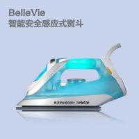 供应 家用手持悬浮蒸汽熨斗小白生活bellevie智能安全感应式电熨斗