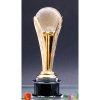 西安金属奖杯免费刻字 西安金属奖杯定制 水晶奖杯创意礼物
