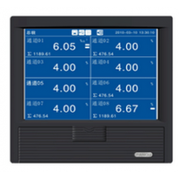 MKY-KT500R蓝屏无纸记录仪(6通道)库号;3652