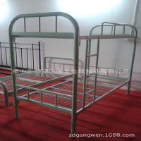 上下铺铁床架 |厂家直销定制分体双层床|免床板铁床定制