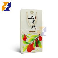 Gift paper bag with handle / wine champagne beverage paper bag/ new fancy custome logo printed shopping bag
