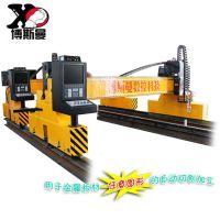 直销重型龙门式数控切割机 数控直条火焰切割机 CNC经济型