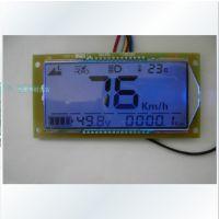 电动车液晶仪表 电瓶车电量表 速度 累积里程  档位显示