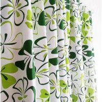 绿蝴蝶棉帆布环保窗帘布料桌布抱枕布料批发,浙江绍兴厂家直销