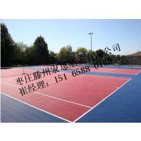 山东枣庄滕州济宁硅pu4-6mm生产厂家哪里有网球场宏思旭美品牌的