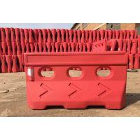 水马隔离墩塑料防撞桶护栏交通设施马路塑料桶长方形塑料桶