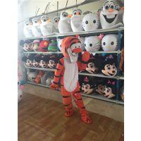 绿和卡通迪斯尼卡通服装人偶道具维尼熊与跳跳虎cosplay玩偶动漫服饰玩具