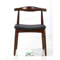 加工订制 VG-2004 原木餐椅 牛角餐椅 餐椅 餐厅椅 品质保证