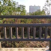 陕西仿木栏杆、水泥仿木栏杆、铸造石栏杆