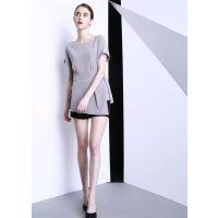 香港品牌蕾迪尔18夏款女装一手货源 女装折扣尾货分份走量