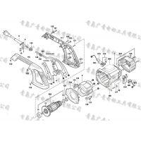 博世切铝机GCM10M 原装 转子 定子 开关碳刷等全套配件