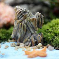 叶之语 微景观树脂摆件 树脂假山 创意礼品家居摆件 假山