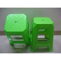 厂家批发塑料家用豪华椅子 防滑浴室方凳 板凳  高凳 加厚餐桌凳