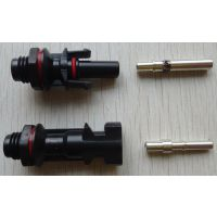 清能MC4公母插头光伏组件电池板连接器防水插头板端连接器TUV认证30A