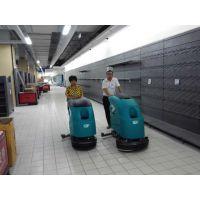 威海商场超市用特沃斯T45B手推式洗地机