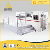 Automatic flatbed Paper and corrutaged board die cutting machine