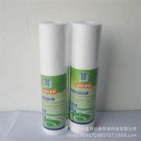 厂家直销 净水器优质滤芯 10寸熔喷滤芯PP棉 1微米/5微米