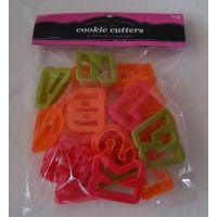 烘焙模具 26英文字母塑料饼干模套装